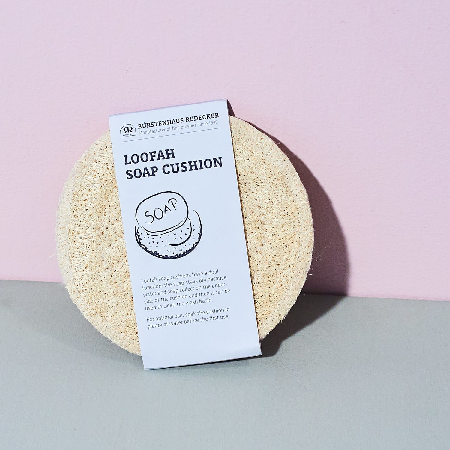 Loofah Cushion Round Deck the House