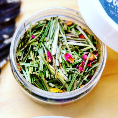 Loose Herb Incense - Sweetgrass & Rose Crystal Shoppe - Herb