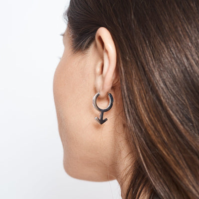 Male Symbol Earring