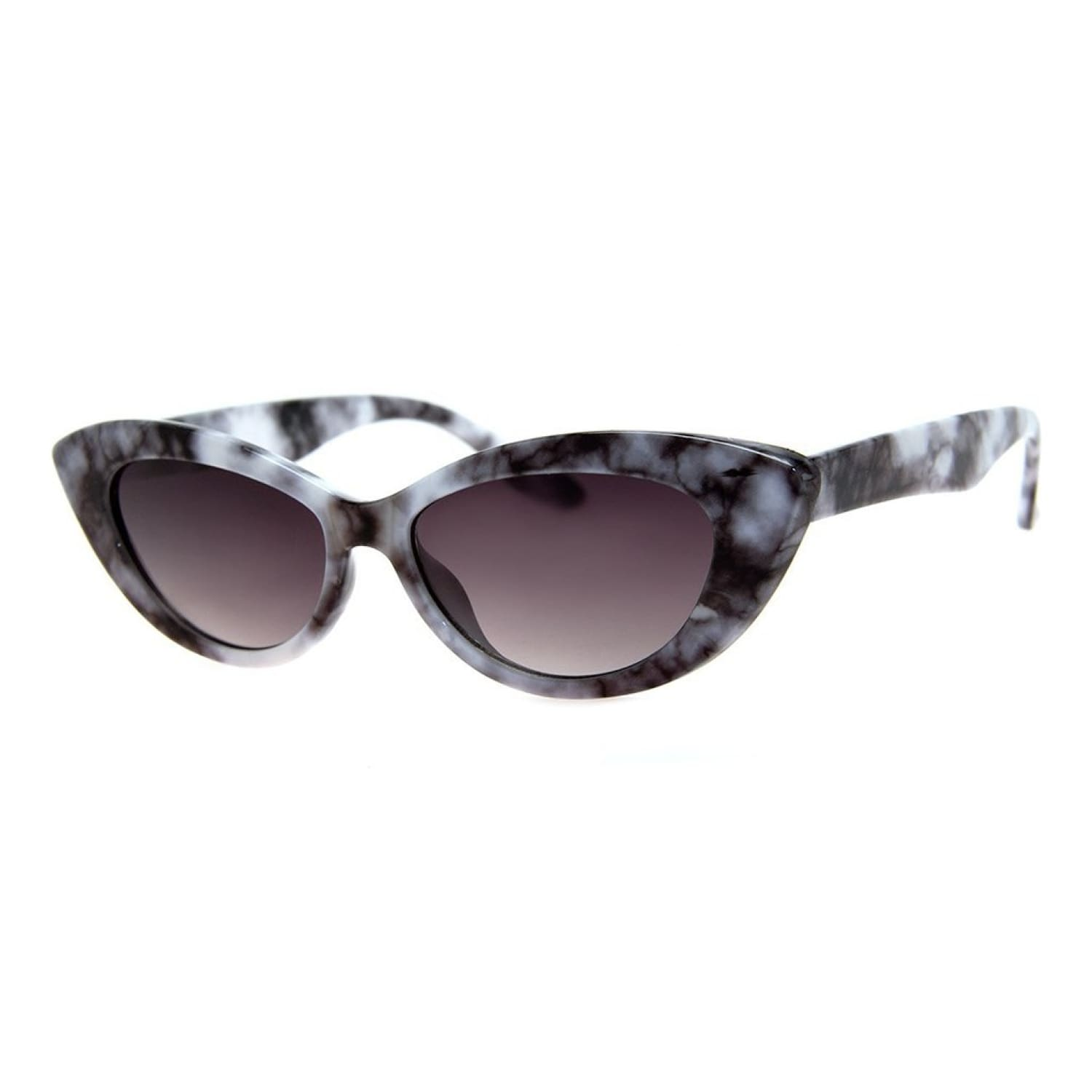 Marbled Cat Eye Sunglasses 90s, Accessories, Black, Cat Eye,