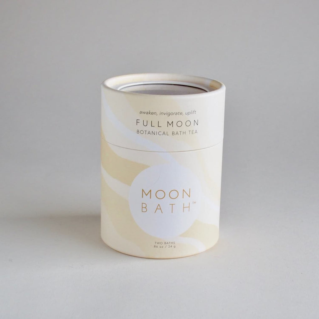 Full Moon Botanical Bath Tea Bath, Bath Salt, Soaking Tea,