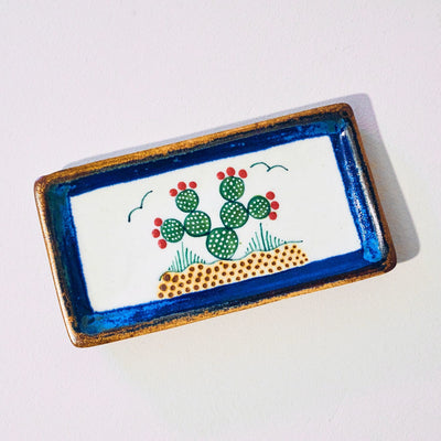 Pottery Tray Nopal Desk, Food, Homewares, Mexican, new Home