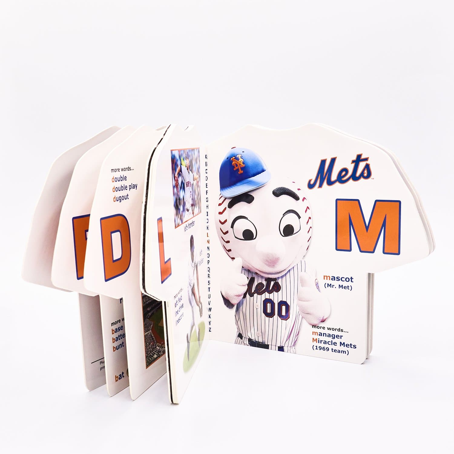 Ny Mets Abc Book Book, Baseball, Board Gifts