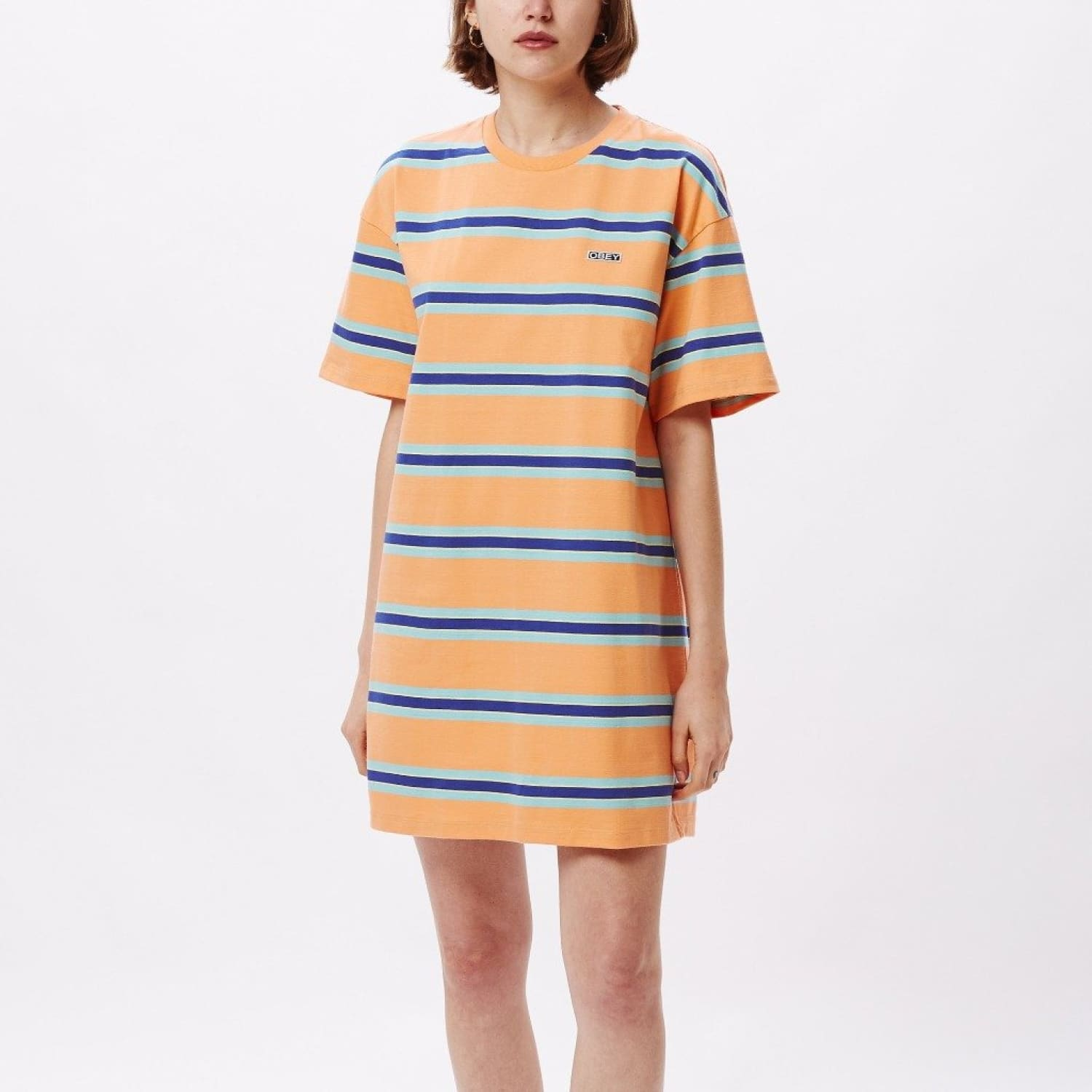 Obey Peri Dress Obey, Obey Dress, Striped Summer, Summer