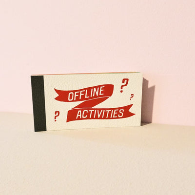 Offline Activities Book