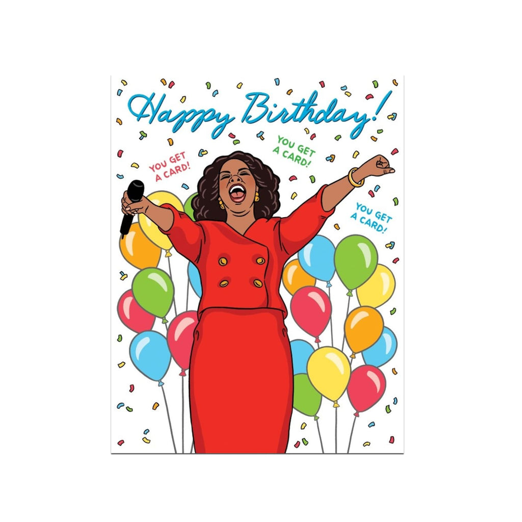 Oprah Birthday Card Birthday, Birthday Card, Blank Cards