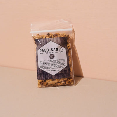 Palo Santo Chips Cleansing - Earthy - Energy - Home