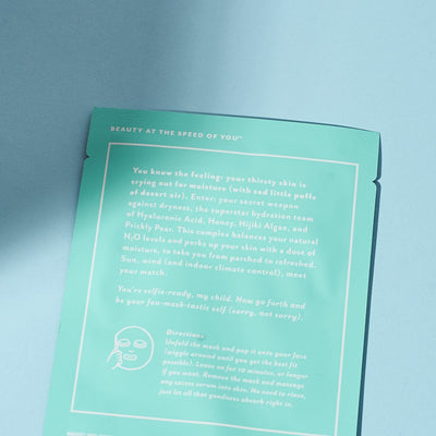 Patchology Mood Mask - get Dewy with it Mood Face Mask,
