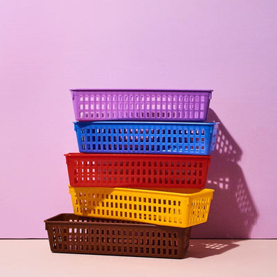 Plastic Baskets - Multicolor