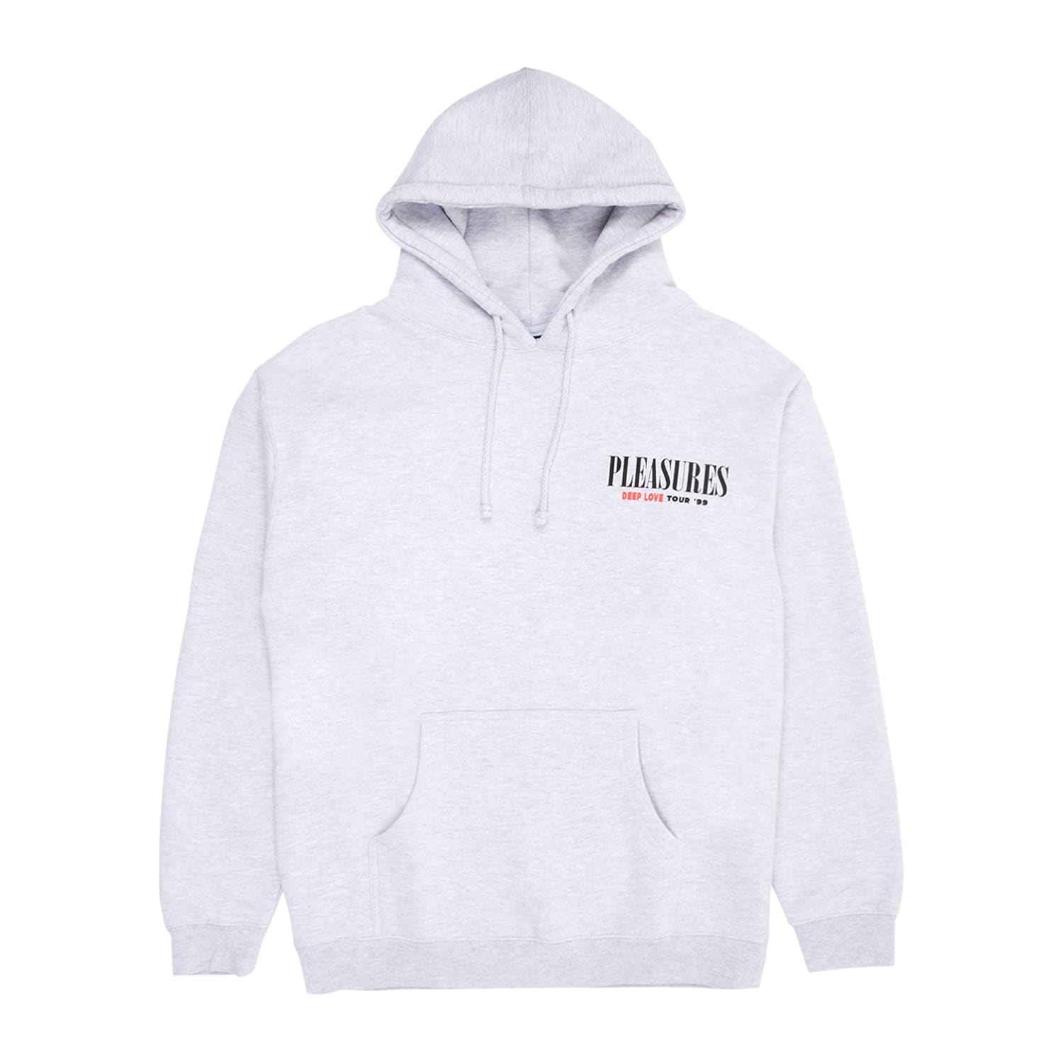 Pleasures Deep Love Hoodie Deep Love - Gray - Grey - Heather
