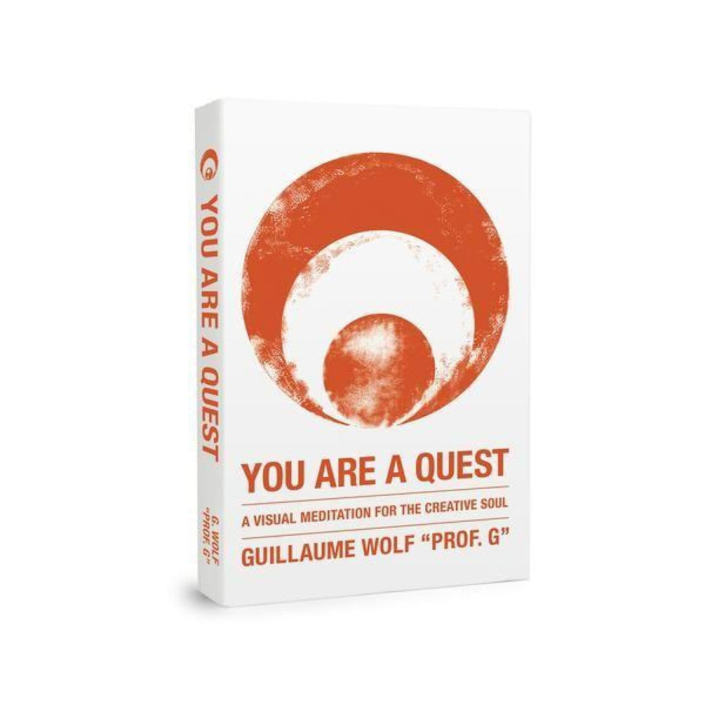You are a Quest Book Book - Creative - Gift - Guillaume Wolf