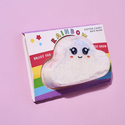 Rainbow Cloud Bath Bomb Bath Bomb - Feeling Smitten - Fun