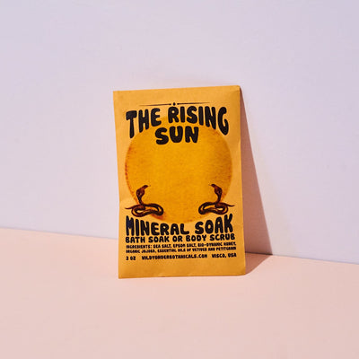 Rising Sun Bath Soaks