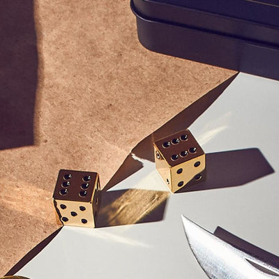 Let It Roll Gold Dice