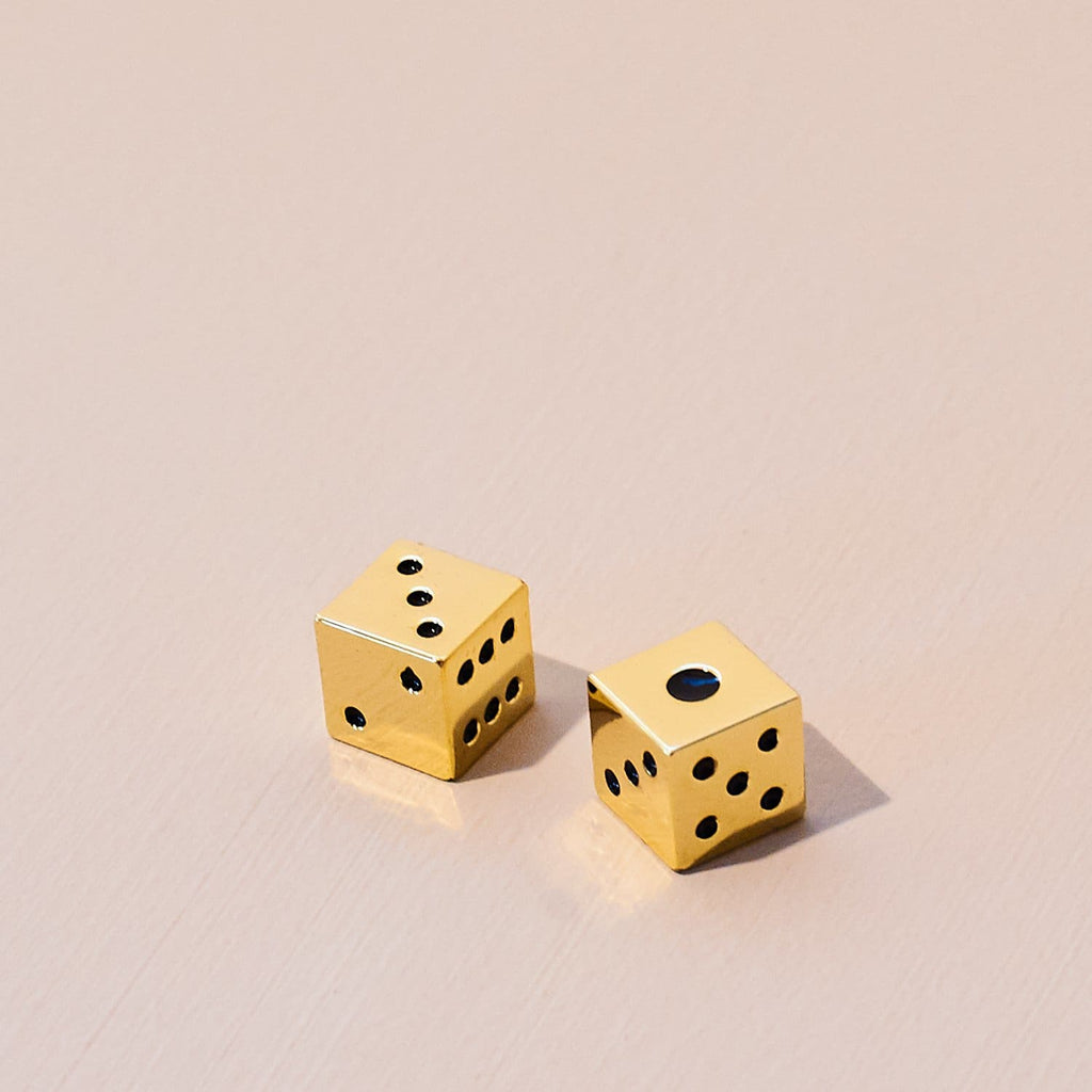 Let it Roll Gold Dice Dice - for Him/them - Game - Games -