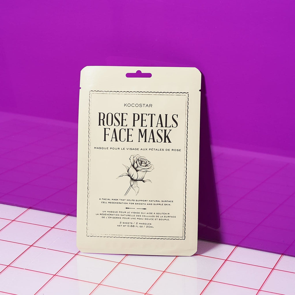 Rose Petals Therapy Mask Body - Face Care - Flower - Friends