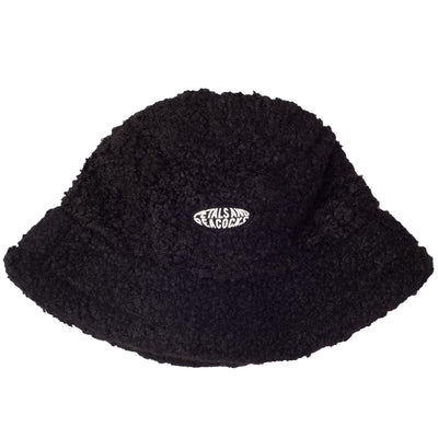 Sherpa Bucket Hat - Black