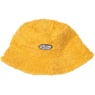 Sherpa Bucket Hat - Yellow 90s - Style - Bucket Hat - Fall -