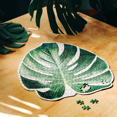 Slow Puzzle - Monstera