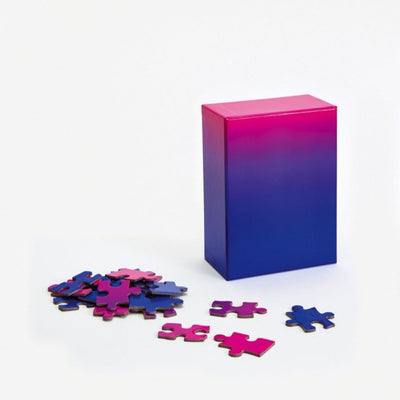 Small Gradient Puzzle - Pink/Blue