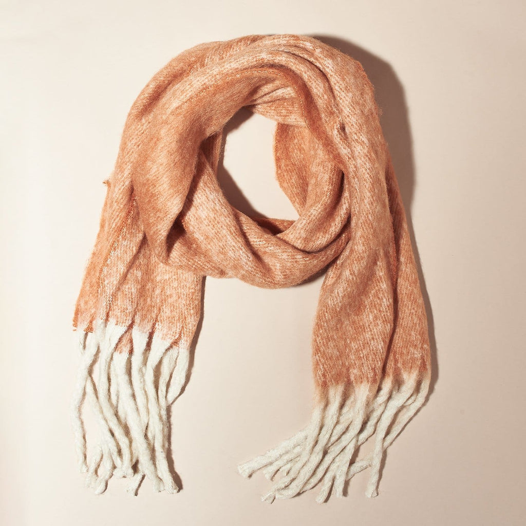 Solid Scarf - Rust Cold Weather - Scarf - Vif Acc - Winter