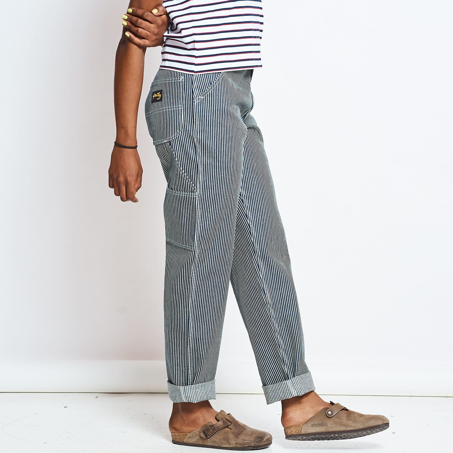 Stan Ray 80s Painters Pant - Hickory Stripe 80s, Baggy