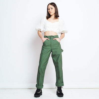 Stan Ray Original Painters Pant - Olive Baggy Pants, Green,
