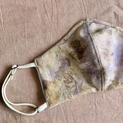 Tie Dye Silk Face Mask