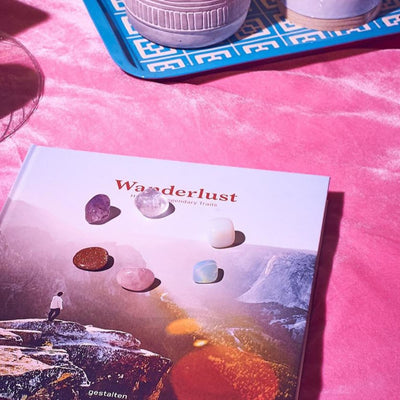 Wanderlust: a Hiker's Companion Book Book - Coffee Table