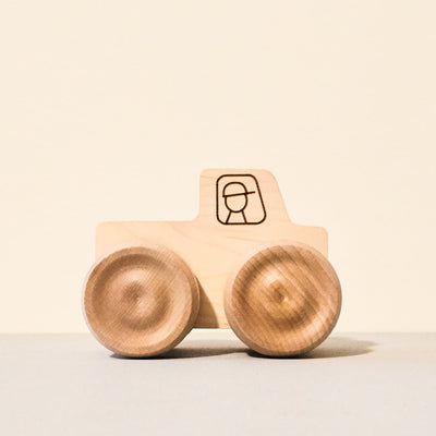 Wooden Monster Truck Toy