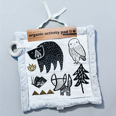 Woodland Organic Activity Pad