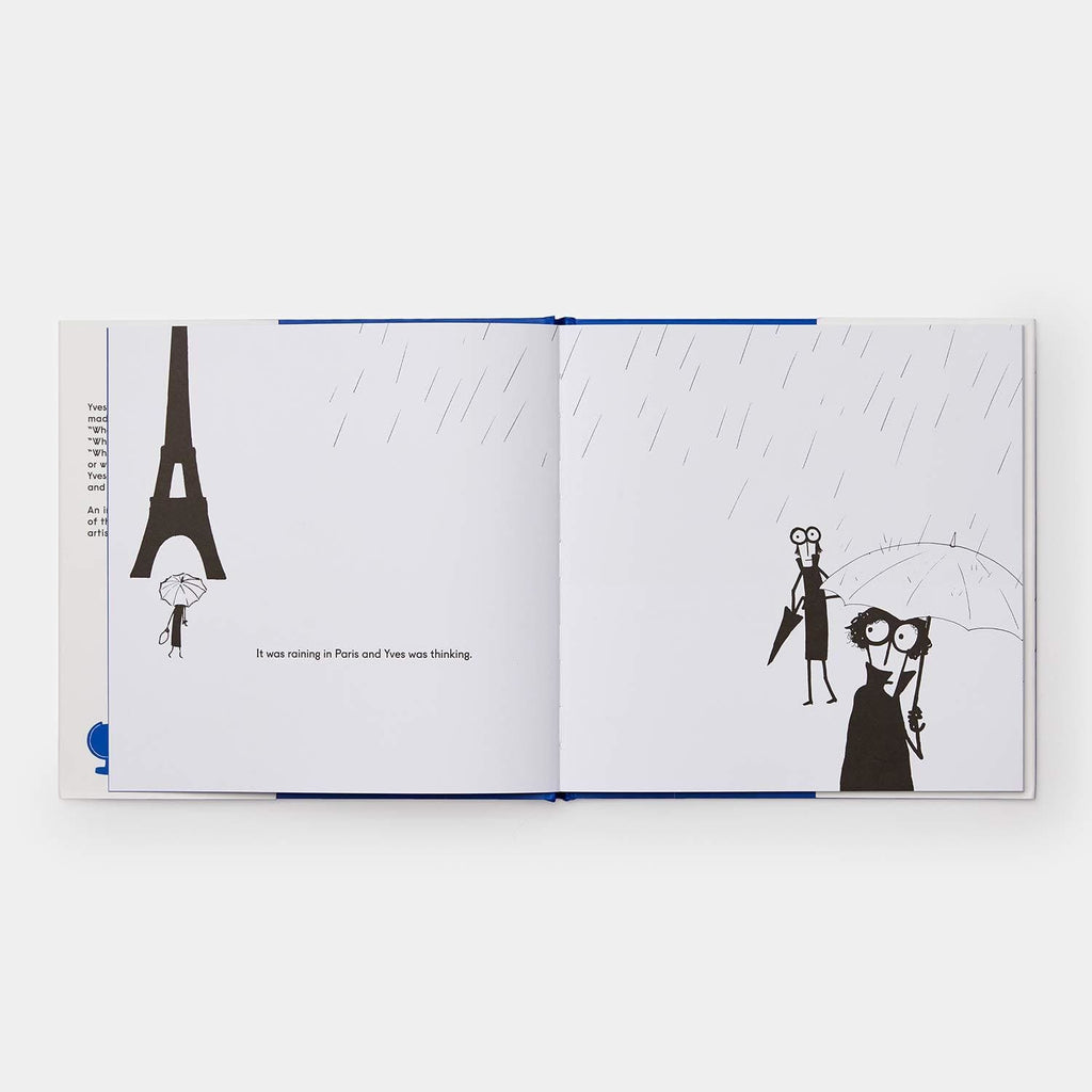 Yves Klein Painted everything Blue and wasn't sorry Book Art