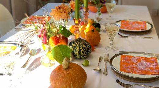 Create Your Own Autumn Table With Talking Tables