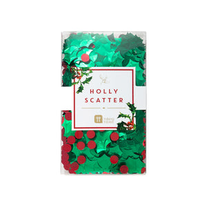 Botanical Christmas Holly Scatter