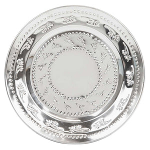 Boho Spice Indian Silver Plate