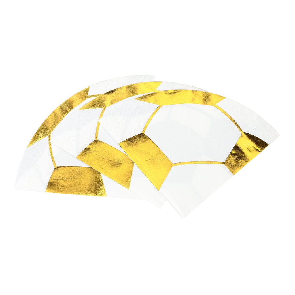 Party Champions Football Shaped Napkins
