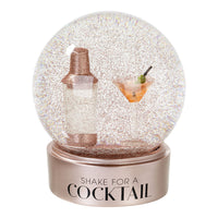 Cocktail Snowglobe