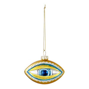 Evil Eye Glass Tree Decoration