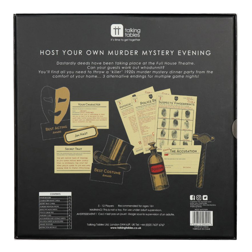 Host Your Own Murder Mystery