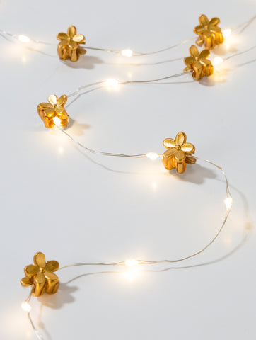 Luxe Gold Hair String Lights