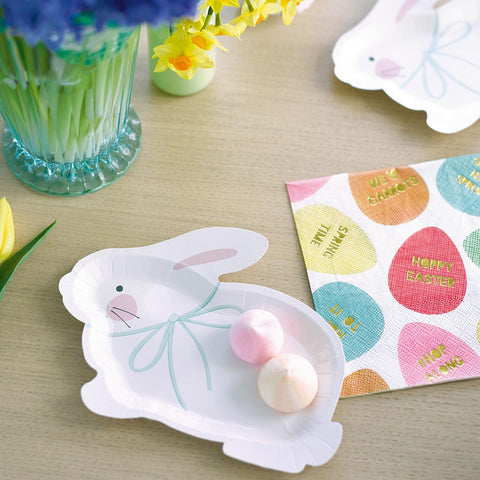 Mix & Match Bunny Shaped Plates