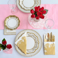 Party Porcelain Gold Napkin