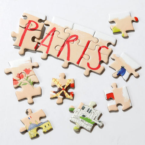 Map Jigsaw Puzzle Paris 250 pieces