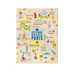 Talking Tables Map Puzzle Paris