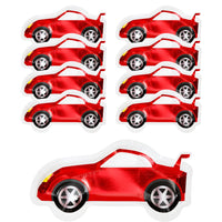 Party Racer Car Shaped Plates