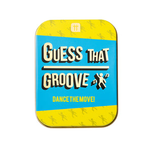 Talking Tables Guess that Groove In a Tin