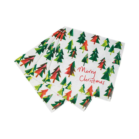 Christmas Like There Is A Tomorrow Tree Napkin, 33Cm, 21Pk