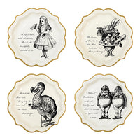 Truly Alice Paper Plates