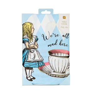 Truly Alice Paper Table Cover