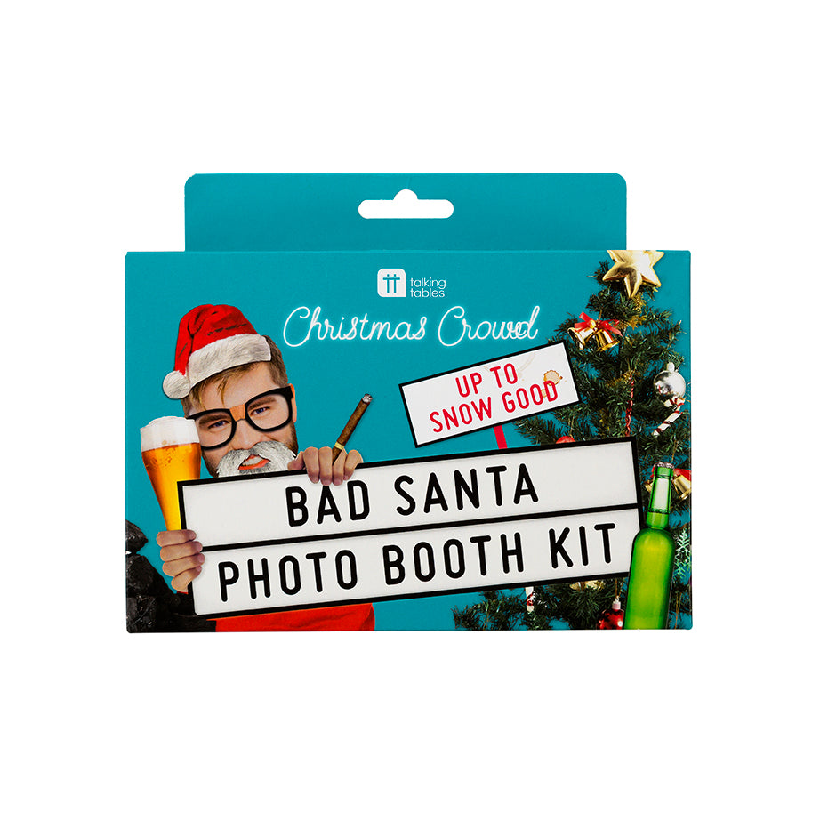 Talking Tables Christmas Entertainment Bad Santa Photo Booth Kit